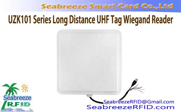 UZK101 Serija Long Distance UHF Tag Wiegand Reader