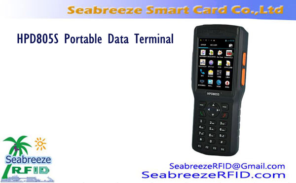 RFID Terminal Data Handheld, RFID Barcode Portable Data Terminal
