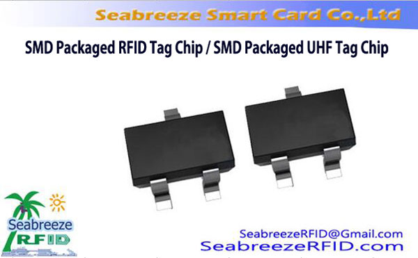 SMD Tag RFID incluse dans le paquet Chip, SMD Emballé Chip Tag UHF