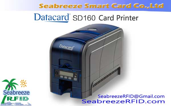 Datacard SD160 Single SIDED plastiki ID Card Printer