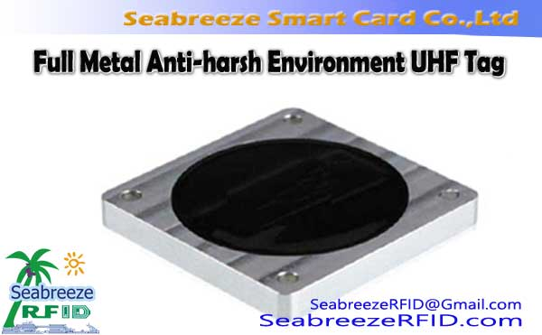 Full Metal Anti-harsh Environment UHF Tag