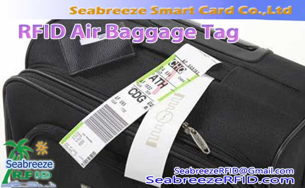 RFID Air Bagasi Label, UHF Air Bagasi Tag