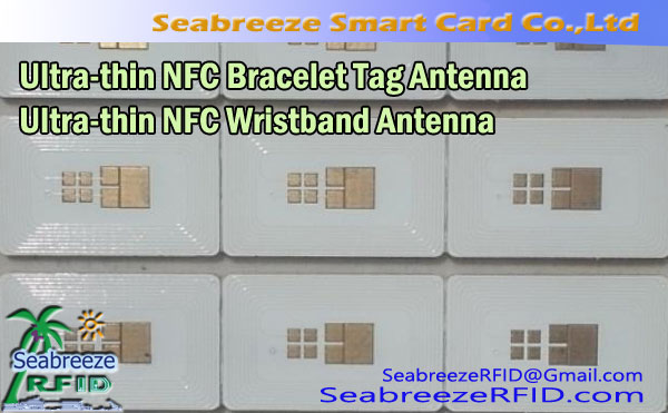 Ultra-thin NFC Wristband Antenna, Embedded Ultra-thin NFC Bracelet Tag Antenna