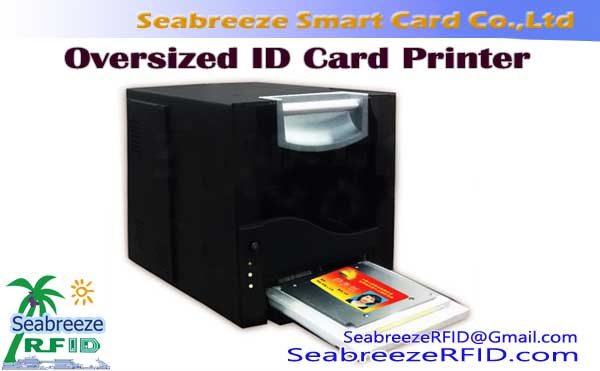 Oversized ID Card printer, printer Card Ukuran badag