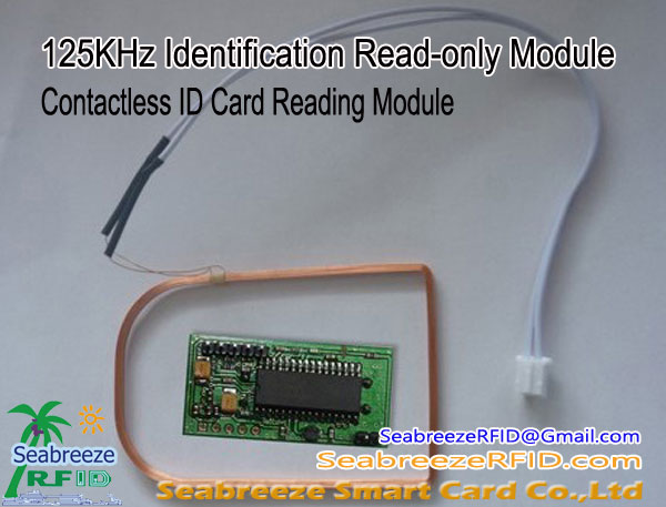 125KHz Identification Read-only Module, Contactless ID Card Reading Module, from Shenzhen Seabreeze SmartCard Co.,Ltd.