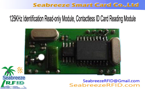 125KHz Identification Gụọ-na-modul, Contactless ID Card Reading modul