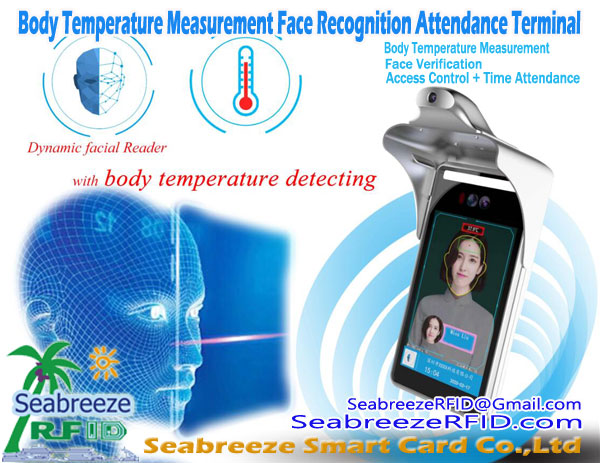Body Temperature Measurement Face Recognition Attendance Terminal