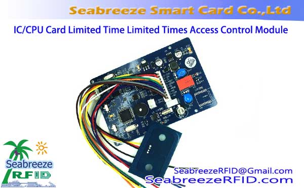 IC/CPU Card Free Wiring Limited Time Limited Times Access Control Reader Module