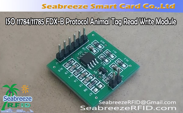 ISO 11784/11785 FDX-B Protocol Animal Tag Read/Write Module