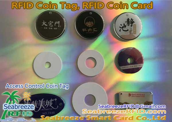RFID Coin Tag, RFID Coin Card, RFID PVC Round Tag, Access control coin Tag, NFC Coin Tag, AIDC coin tag, RFID PVC Round Tag. Seabreeze Smart Card Co., Ltd.