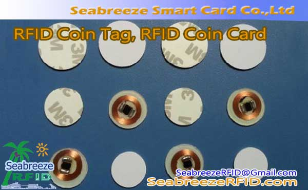 RFID Category Coin, Card RFID Coin, AIDC Category Coin