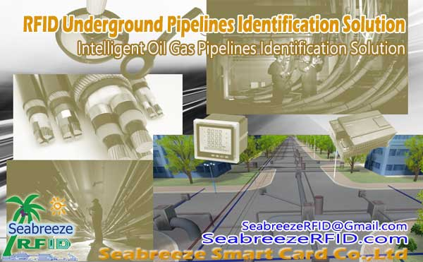 RFID Underground Pipelines Identification Solution, Oil Gas pipelines, Cable, Underground deep induction 1.8 meters