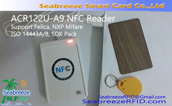 ACR122U-A9 NFC Reader, Felica, Mifare support,SDK Pack,ISO 14443A / B