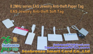 8.2MHz jara EAS Jewelry Anti-ole Iwe Kan, EAS Jewelry Anti-ole Soft Tag, 8.2MHz Jewelry Soft Tag, Seabreeze SmartCard Co.,Ltd.