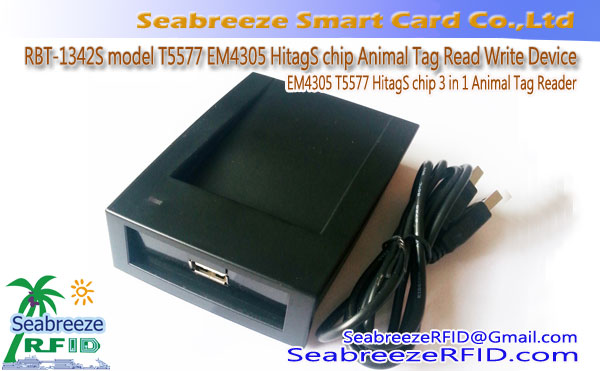 RBT-1342S model T5577 EM4305 HitagS chip Animal Tag Read Write Device, T5577 EM4305 HitagS chip 3 sa 1 Animal Tag Reader