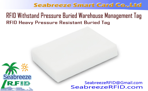 RFID Heavy Pressure Resistant Buried Tag, RFID Withstand Pressure Buried Warehouse Management Tag