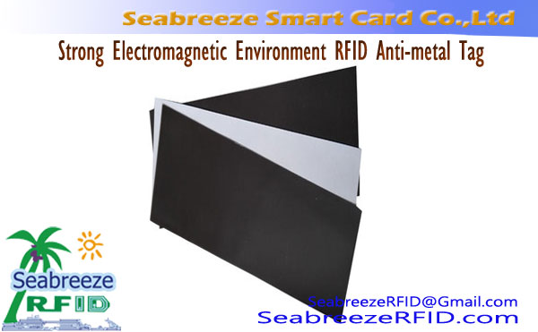 Strong Electromagnetic Environment RFID Anti-metal Tag
