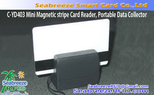 C-YD403 Mini Magnetic stripe Card Reader, Portable Magnetic stripe Data Collector
