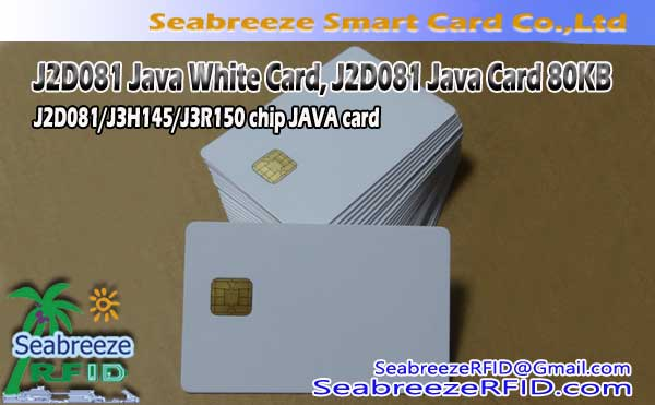J2D081 Java White Card, J2D081 Java Card 80KB