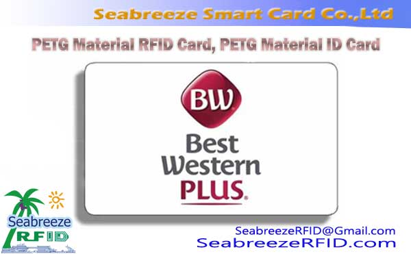 PETG Material RFID Card, PETG Material ID Card
