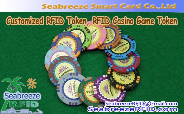 Customized RFID Token, RFID Casino Game Token