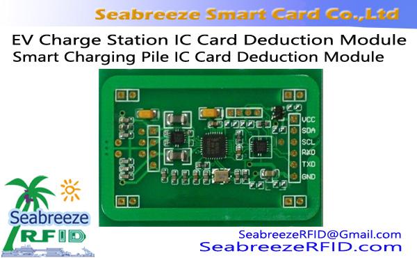 EV Charge Station IC Card Deduction Module, Smart Charging Pile IC Card Deduction Charge Read/Write Module