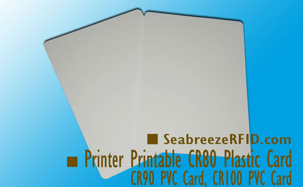 Printer Printable CR80 PVC Card, Printable CR90 Plastic Card, Printable CR100 Plastic Card