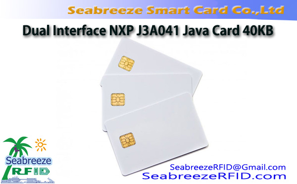 Dual Interface NXP J3A041 Java Card 40KB