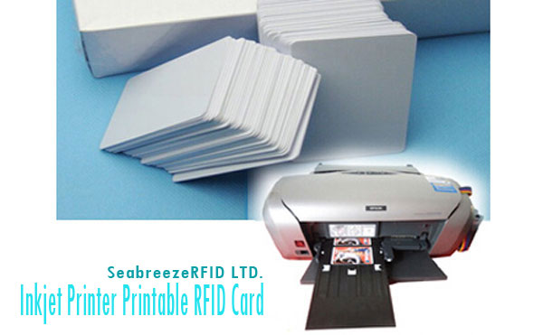 Laser Printer Direct Print Card Putih PVC, Cetak kertu Strip Magnetik, Cetak RFID Chip Card Blank