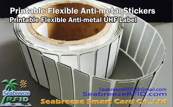 Printable Flexible Anti-metal UHF Stickers, Ultra-ipis stiker Anti logam UHF Tag, Printable Flexible Anti-metal Stickers, Printable Flexible Anti-metal Label, Seabreeze Smart Card Co.,Ltd.