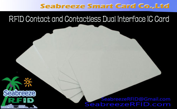 RFID Contact and Contactless Dual Interface IC Card